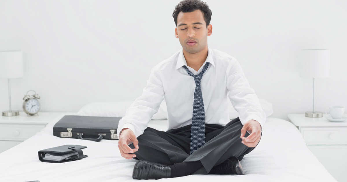 meditation at work