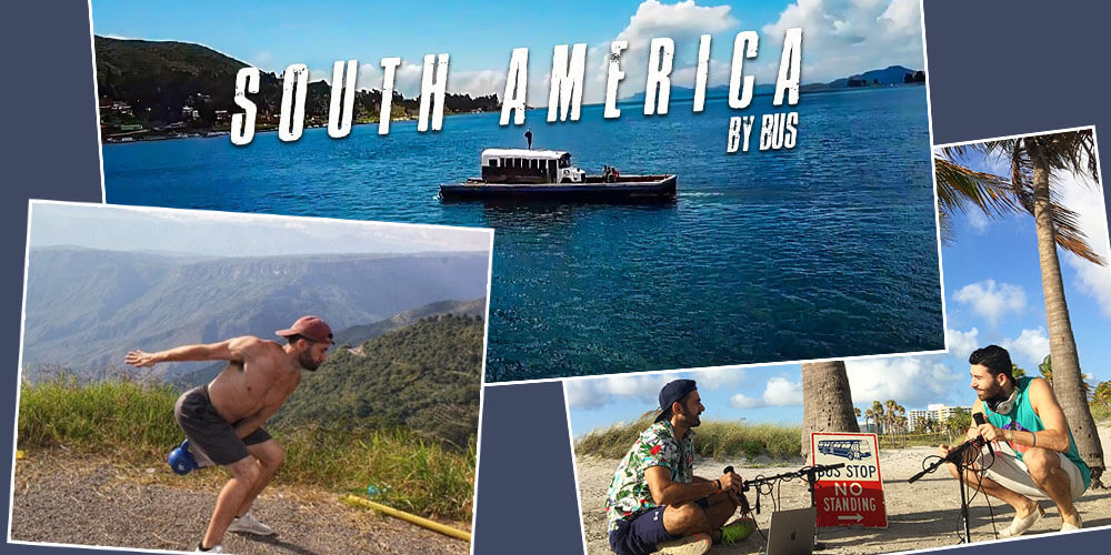 Dan Blum's On the Bus Podcast South America Tour