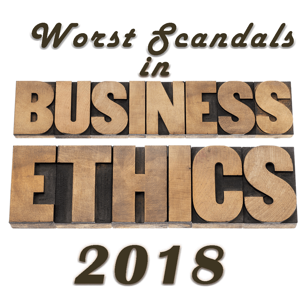 worst ethics scandals of 2018 in business with Paul Gibbons