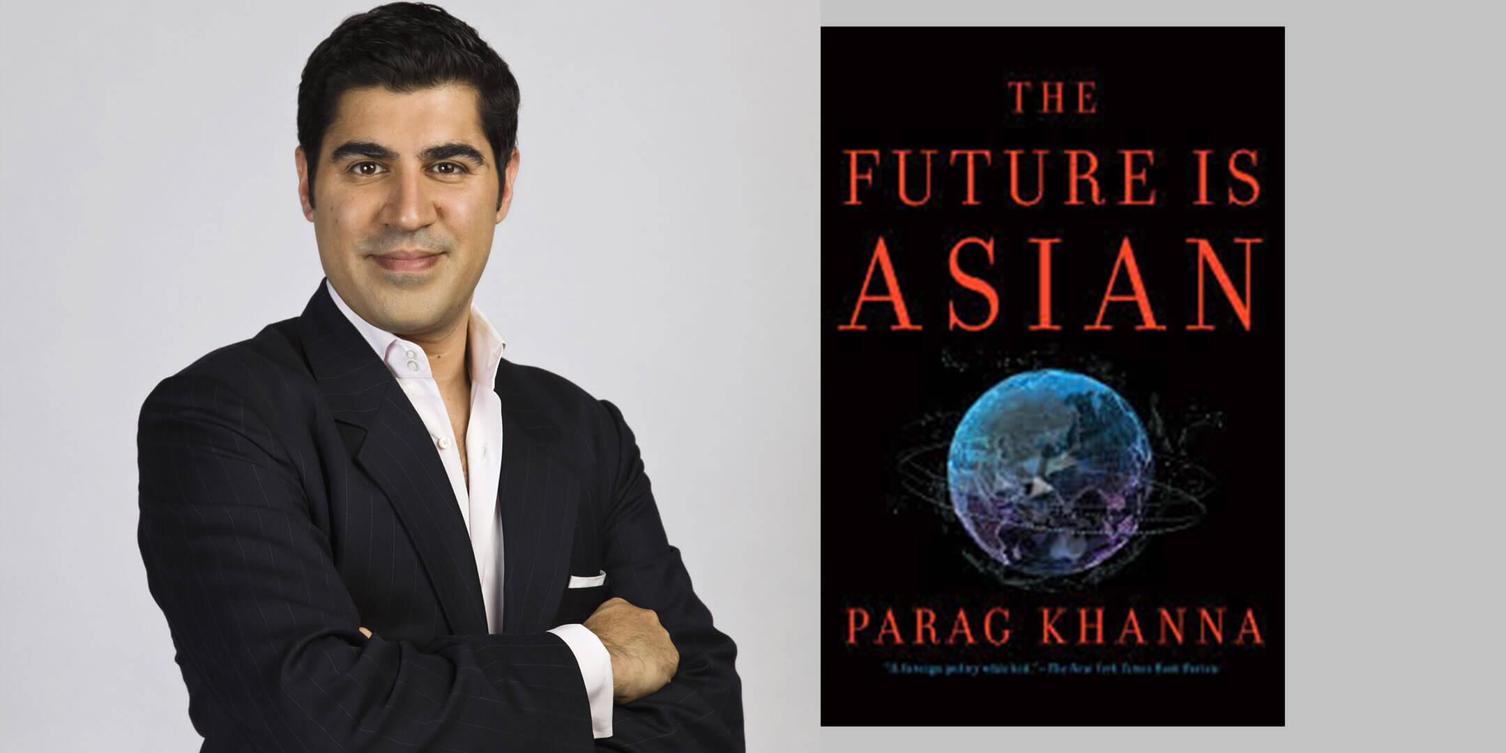 Parag Khanna on Think Bigger Think Better podcast